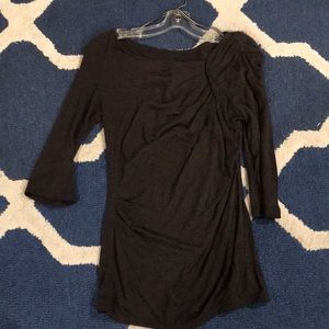 Brownish gray Anthropologie top. Size small.